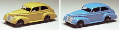 Dinky 39b Oldsmobile Sedans