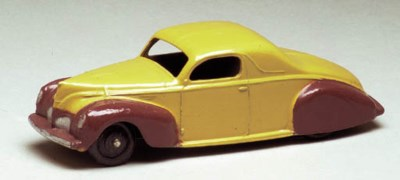 A Dinky US-issue two-tone pale