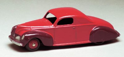 A Dinky US-issue two-tone red