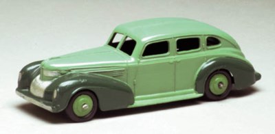 A Dinky US Issue two-tone gree
