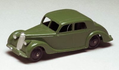 Dinky 40a Riley Saloons