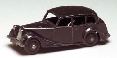 A Dinky black 40b Triumph 1800