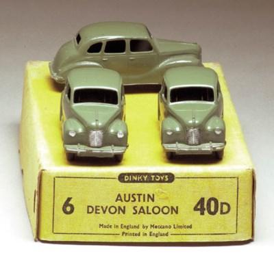 Dinky 40d Austin Devon Saloons