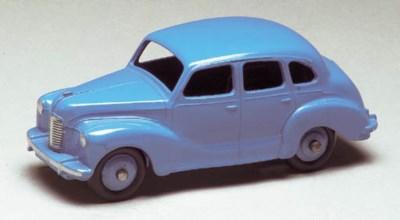 A Dinky light blue 152 Austin