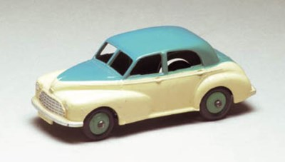 A Dinky two-tone turquoise and