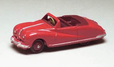A Dinky red 140a Austin Atlant