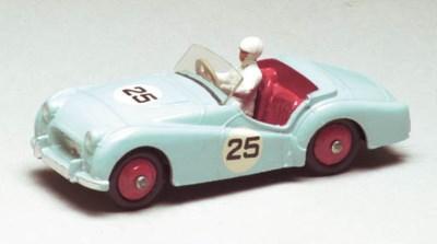 Dinky 111 Triumph TR3 Sports