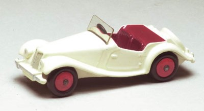 A Dinky US Issue white 129 MG