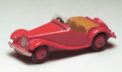 A Dinky US Issue red 128 MG Mi