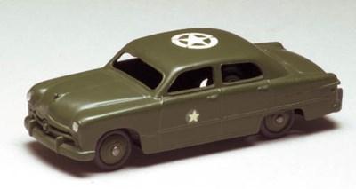 Dinky 675 U.S. Army Staff Cars