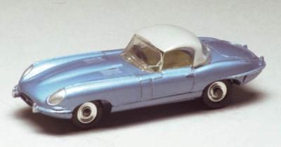 A Dinky metallic light blue 12