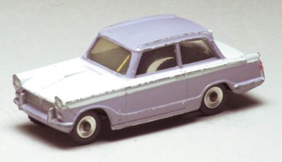 A Dinky lilac and white 189 Tr