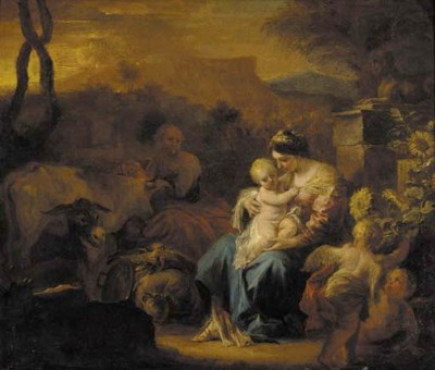 After Francesco Solimena (Cana