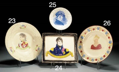 A English pearlware commemorat