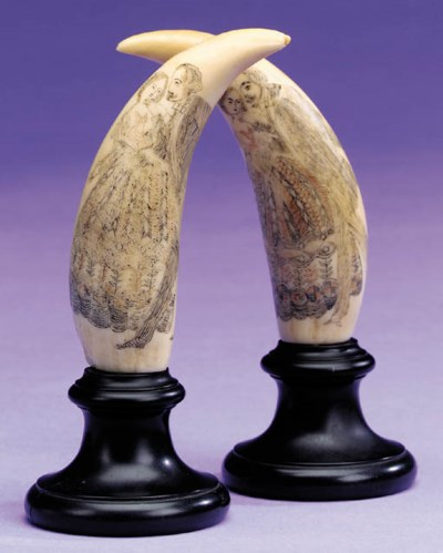A PAIR OF LATE 19TH CENTURY SC