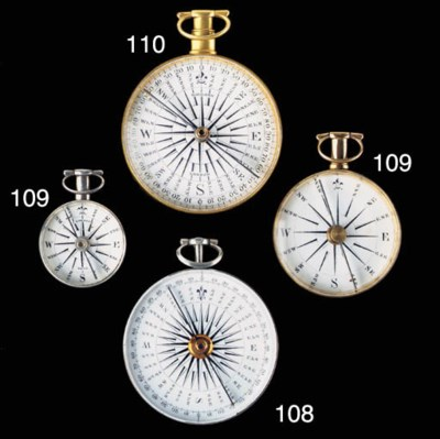 A SMALL SILVER POCKET WATCH-FO