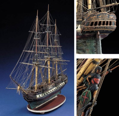 AN EARLY 19TH CENTURY WOOD AND