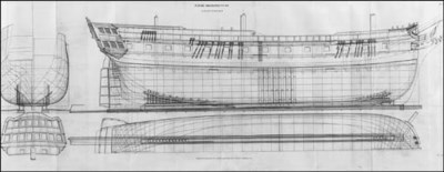 EARLY 19TH CENTURY NAVAL ARCHI