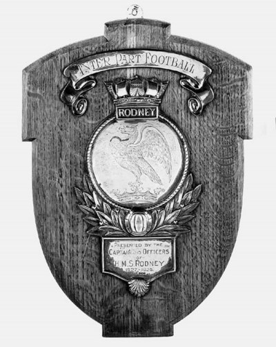 H.M.S. RODNEY: A SILVER FOOTBA