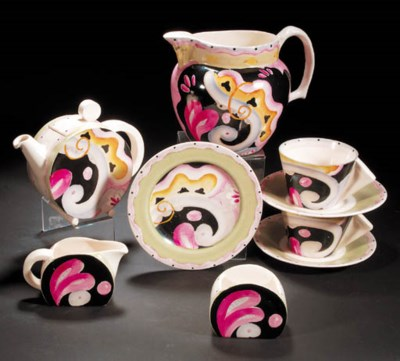 a  'Bizarre' Tea for two and w