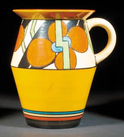 'Orange Picasso Flower'