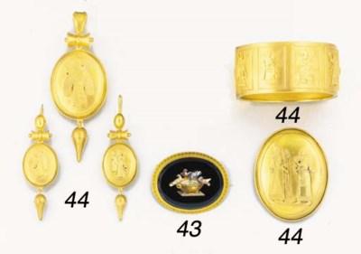 A 19th century silver-gilt par