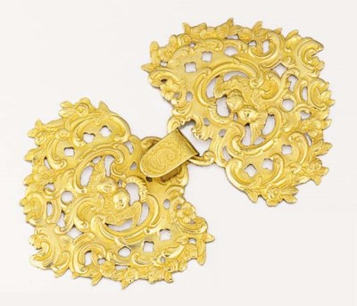 A large cloak-clasp by Weise,