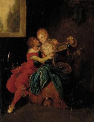 Manner of Louis Joseph Watteau