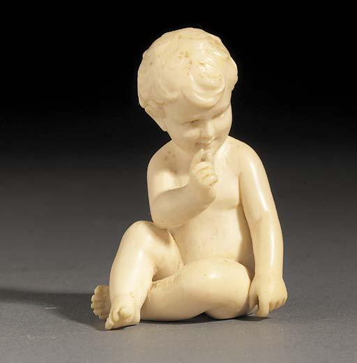 An ivory figure