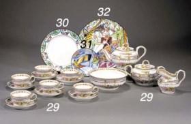 A Soviet porcelain plate