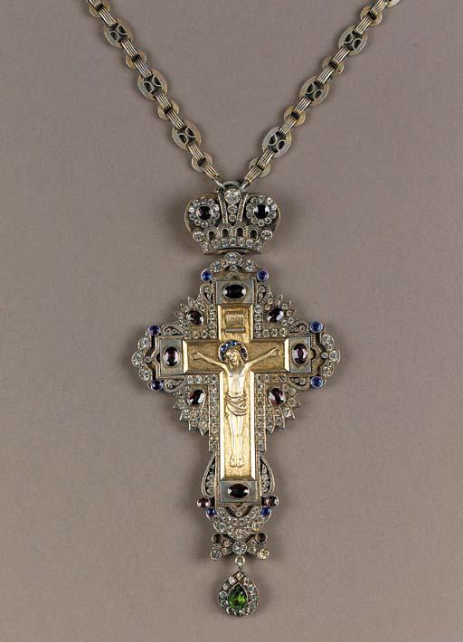 A bishop's Pectoral Cross