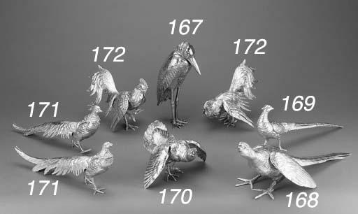 A GERMAN BIRD ORNAMENT
