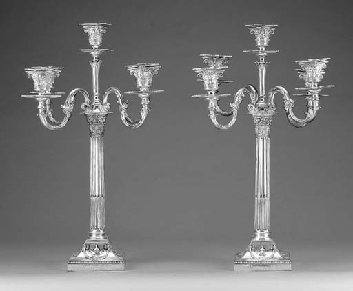 TWO LATE VICTORIAN SILVER FIVE