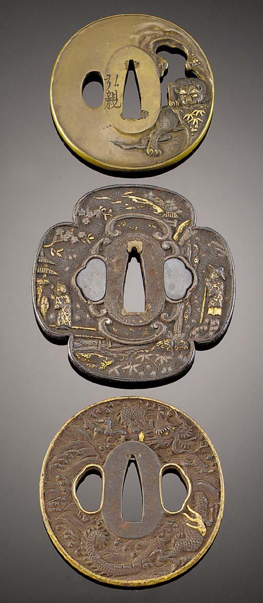 Three tsubas Edo Period