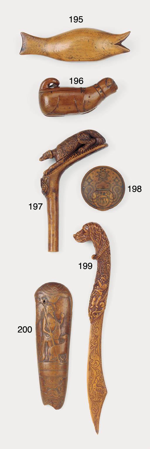 A Continental wood parasol han