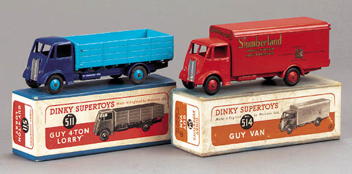 Dinky Guy Lorries
