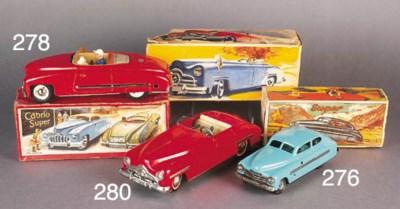 German tinplate vehicles