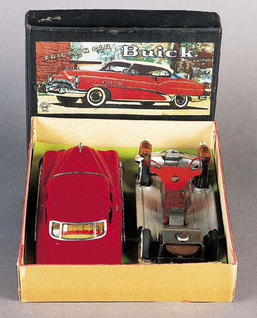 Marusan 'Friction Car Buick' Boxed Set, circa 1953