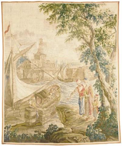 A LOUIS XVI AUBUSSON PASTORAL