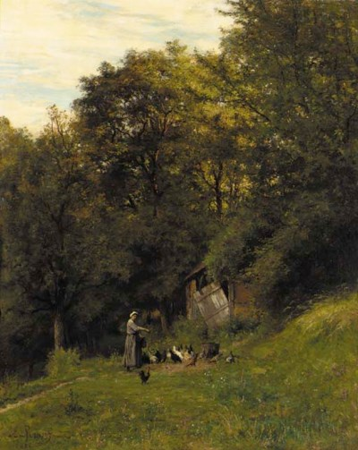 Emile Renouf (French, 1845-189