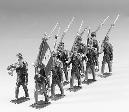 CBG Mignot Large Size 70mm. Scale Figures