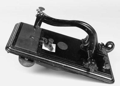 A rare Alexander sewing machin
