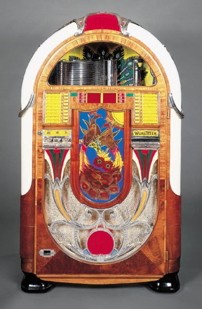 A Wurlitzer Model 850 'Peacock