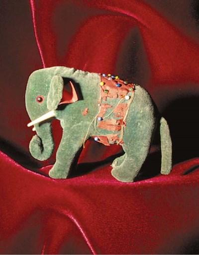 A very rare Steiff elephant pi