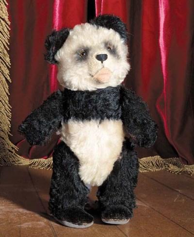 A rare Steiff Panda