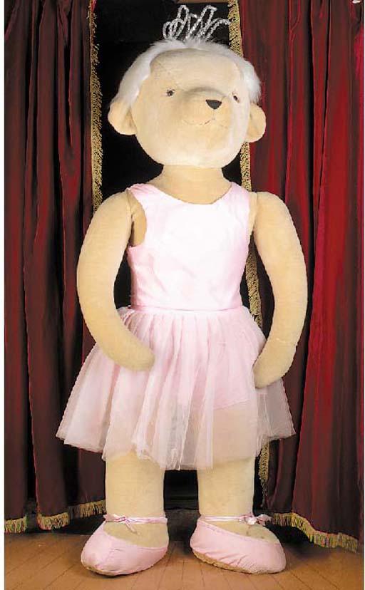 A Merrythought Ballerina displ