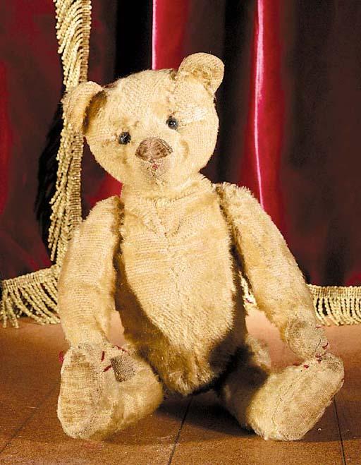 An unusual German teddy bear