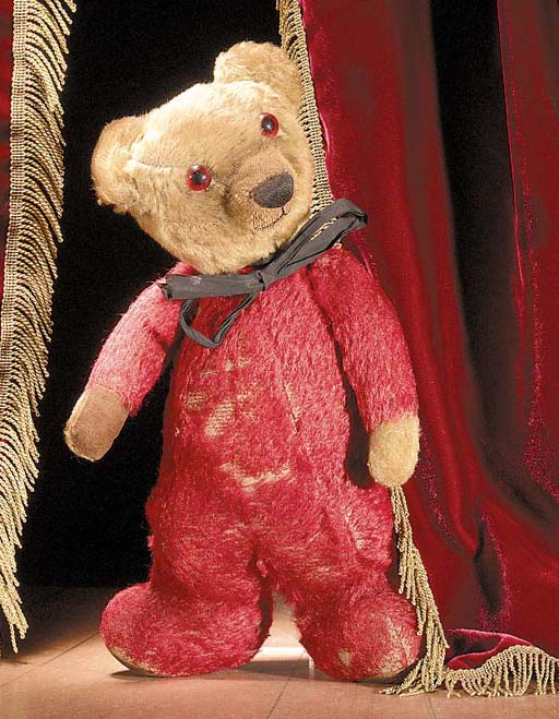An unusual Chad Valley teddy bear