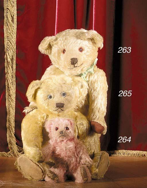 A British pink teddy bear