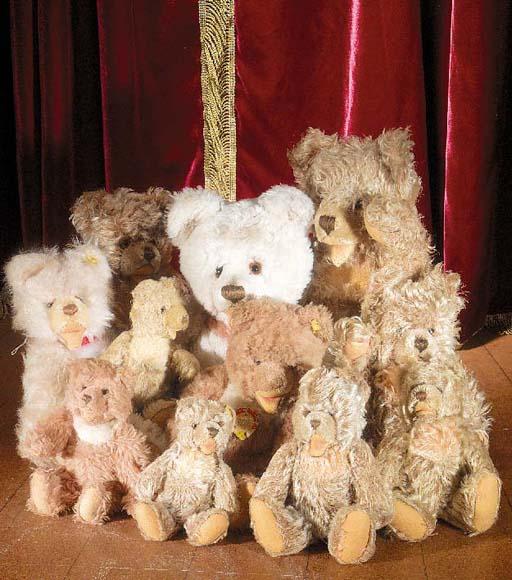 Steiff Zotty teddy bears